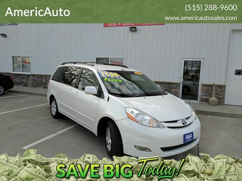 2008 Toyota Sienna for sale in Des Moines, IA