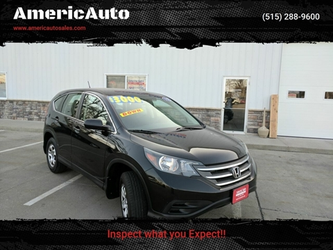 2012 Honda CR-V for sale in Des Moines, IA