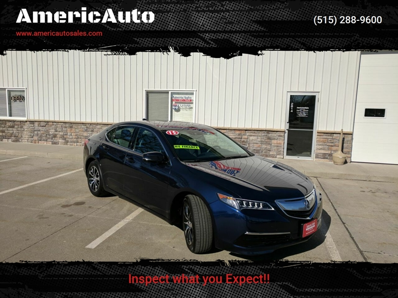 Acura Des Moines >> 2015 Acura Tlx 4dr Sedan W Technology Package In Des Moines Ia