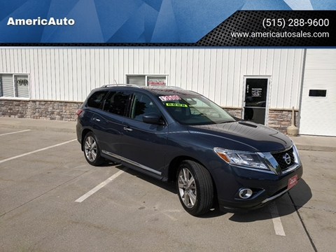 2014 Nissan Pathfinder for sale in Des Moines, IA