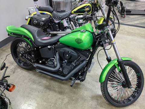 2008 Harley Davidson FXSTB
