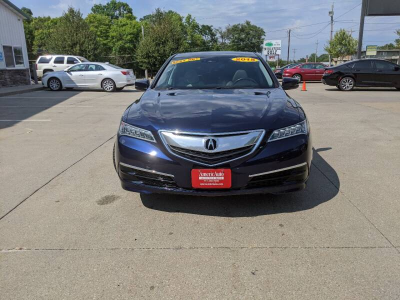 2015 Acura TLX 4dr Sedan w/Technology Package - Des Moines IA