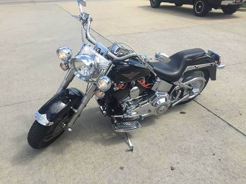 2002 Harley-Davidson Fat Boy FLSTF for sale at AmericAuto in Des Moines IA