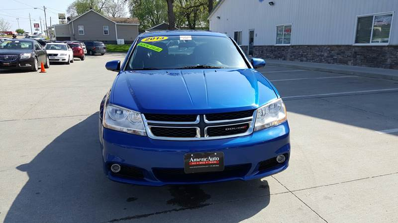 2013 Dodge Avenger for sale at AmericAuto in Des Moines IA