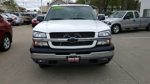 2004 Chevrolet Silverado 1500 for sale at AmericAuto in Des Moines IA