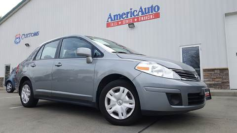 2010 Nissan Versa for sale at AmericAuto in Des Moines IA