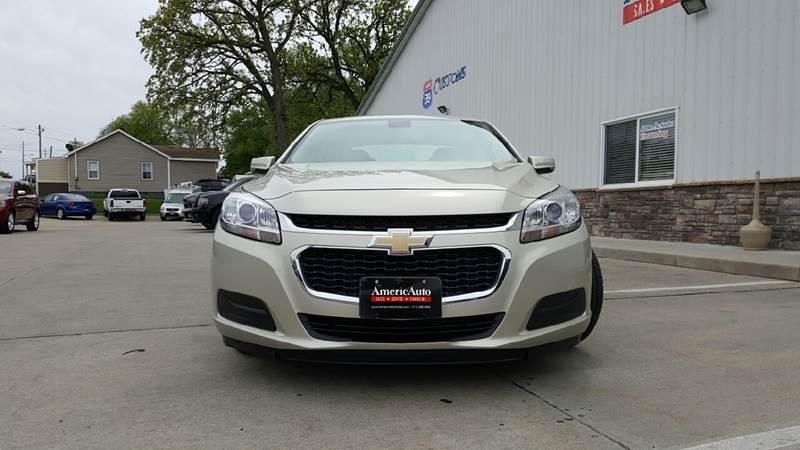 2014 Chevrolet Malibu for sale at AmericAuto in Des Moines IA