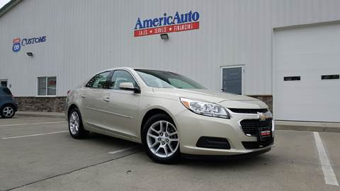 2014 Chevrolet Malibu for sale at AmericAuto in Des Moines IA
