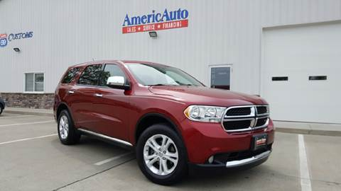 2013 Dodge Durango for sale at AmericAuto in Des Moines IA