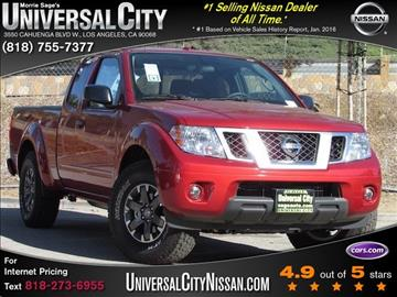 2017 Nissan Frontier for sale in Los Angeles, CA