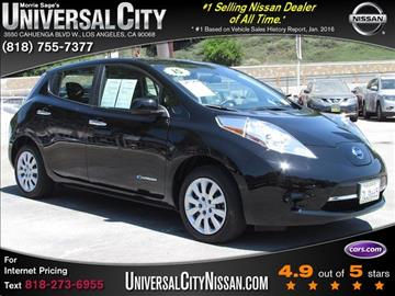 2017 Nissan LEAF for sale in Los Angeles, CA
