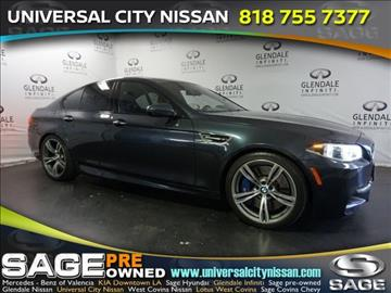 2015 BMW M5 for sale in Los Angeles, CA