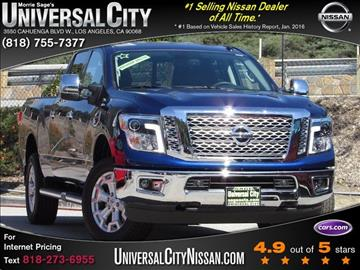 2017 Nissan Titan for sale in Los Angeles, CA