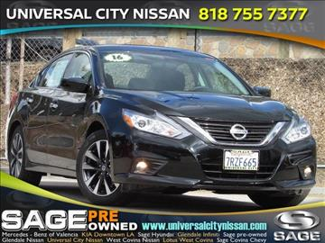 2016 Nissan Altima for sale in Los Angeles, CA