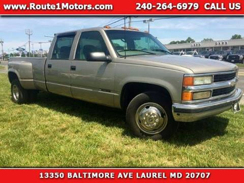 1999 Chevrolet C/K 3500 Series for sale in Laurel, MD