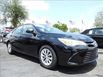 2016 Toyota Camry for sale in Fort Lauderdale, FL