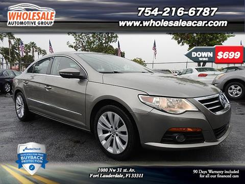 2010 Volkswagen CC for sale in Fort Lauderdale, FL