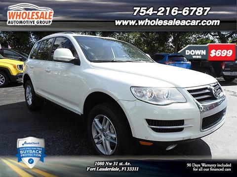 2009 Volkswagen Touareg 2 for sale in Fort Lauderdale, FL