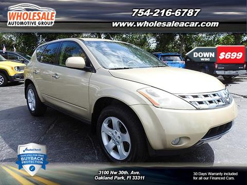 2004 Nissan Murano for sale in Fort Lauderdale, FL