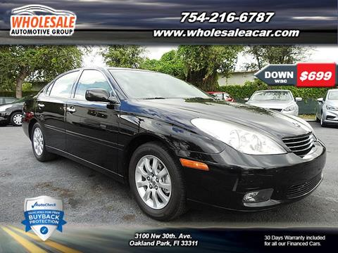 2004 Lexus ES 330 for sale in Fort Lauderdale, FL
