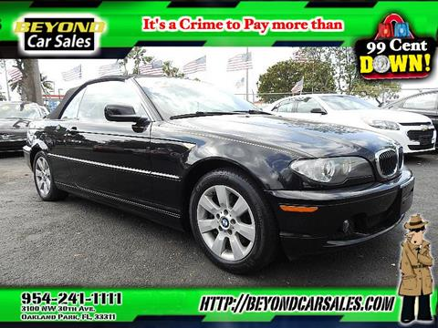 BMW Series For Sale Carsforsalecom - 2006 bmw 325ci convertible