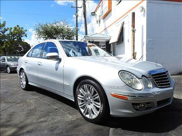 2008 Mercedes-Benz E-Class for sale in Fort Lauderdale, FL