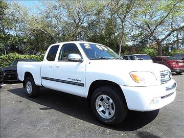 2006 Toyota Tundra for sale in Fort Lauderdale, FL