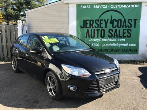 2013 Ford Focus for sale at Jersey Coast Auto Sales in Long Branch NJ