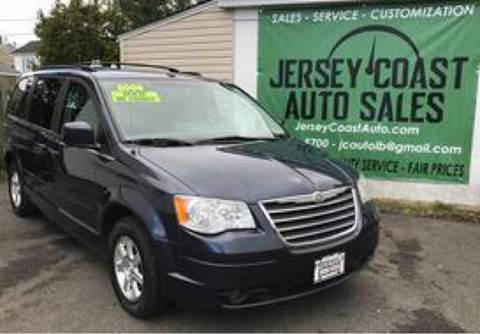 2008 Chrysler Town and Country for sale at Jersey Coast Auto Sales in Long Branch NJ