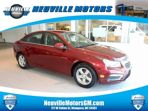 2016 Chevrolet Cruze Limited for sale in Waupaca, WI