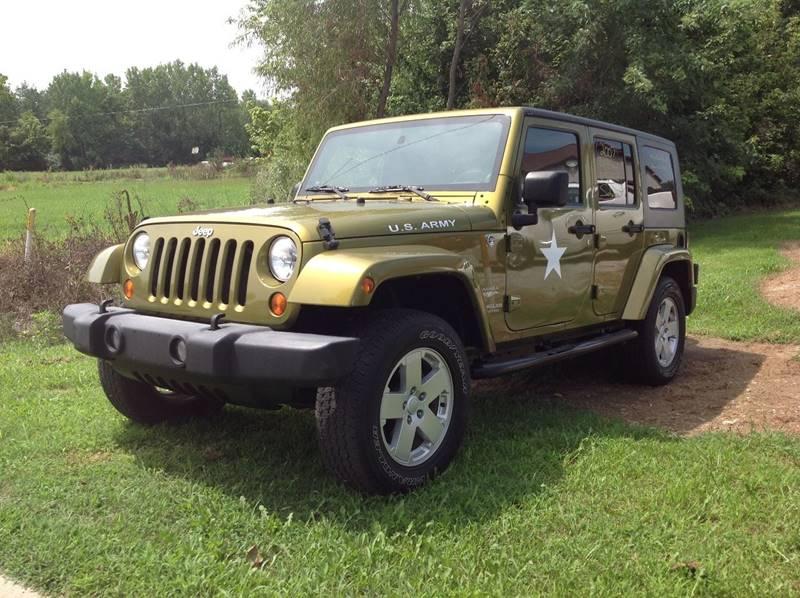 2007 Jeep Wrangler Unlimited For Sale At Autoplex In Sullivan IN