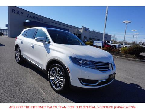 2016 Lincoln MKX for sale in Clinton, TN