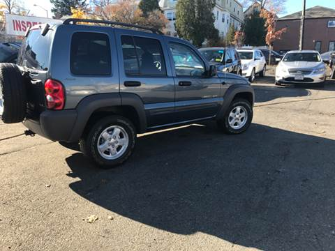 2002 Jeep Liberty for sale in Worcester, MA