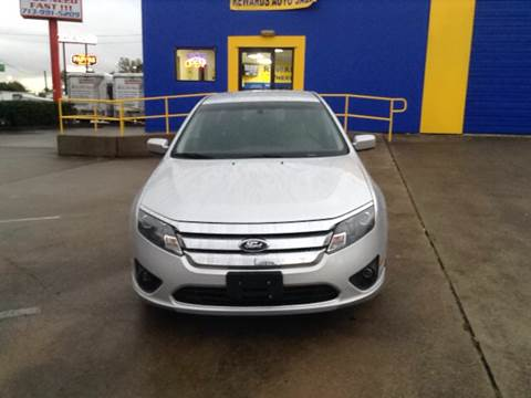 2011 Ford Fusion for sale in Houston, TX