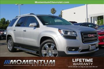 2017 GMC Acadia Limited for sale in San Jose, CA
