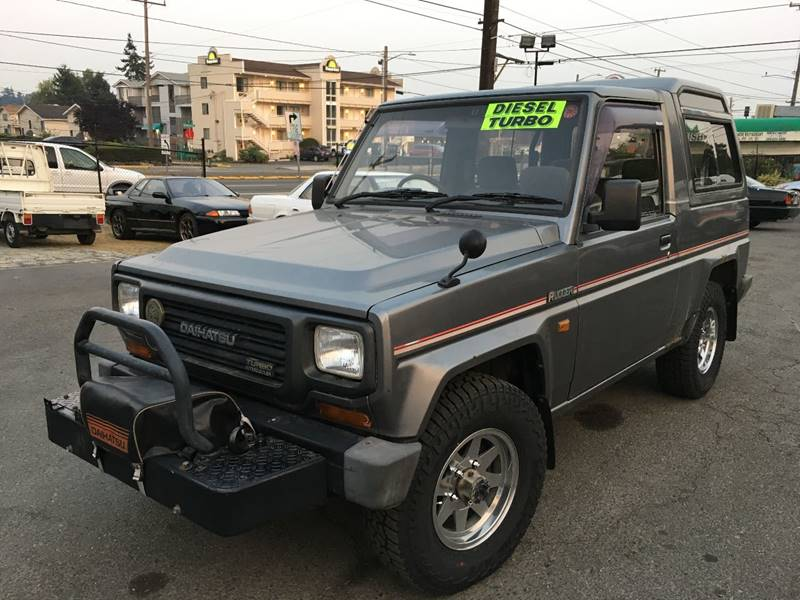 1992 Daihatsu Rugger Turbo-Diesel 4X4 High Top In Seattle WA - JDM