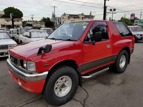 1992 Isuzu MU  4JD1 Diesel AWD for sale at JDM Car & Motorcycle LLC in Seattle WA