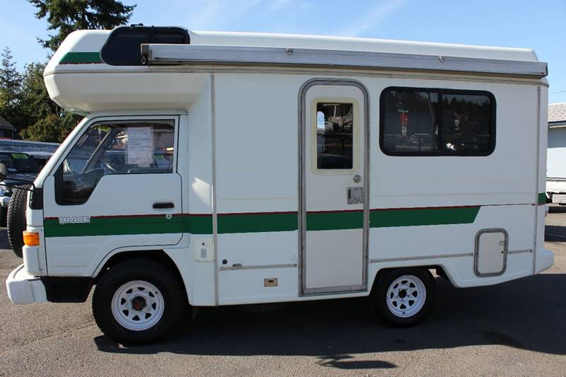 1992 Toyota Hiace Truck RV, 4WD, Diesel F5 for sale at JDM Car & Motorcycle LLC in Seattle WA