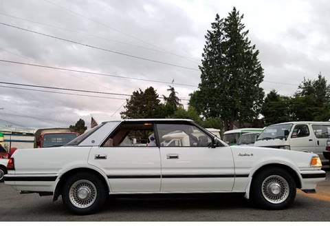 1986 Toyota Crown Turbo Diesel for sale at JDM Car & Motorcycle LLC in Seattle WA