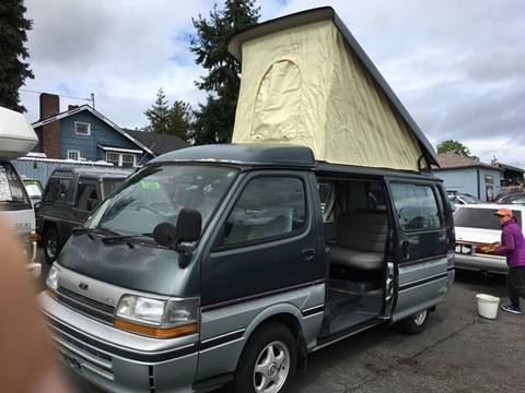 1991 Toyota Hiace for sale at JDM Car & Motorcycle LLC in Seattle WA
