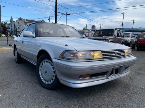 1988 Toyota Mark 2 Twin Turbo for sale at JDM Car & Motorcycle LLC in Seattle WA