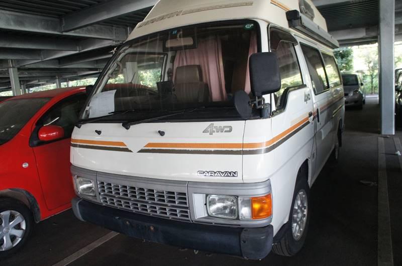 1990 Nissan Caravan 4wd Diesel Camping Highroof Long Base Business