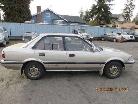 1990 Toyota Corolla AWD Diesel for sale at JDM Car & Motorcycle LLC in Seattle WA