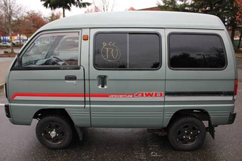 1985 Suzuki Every Van 4WD PX for sale at JDM Car & Motorcycle LLC in Seattle WA