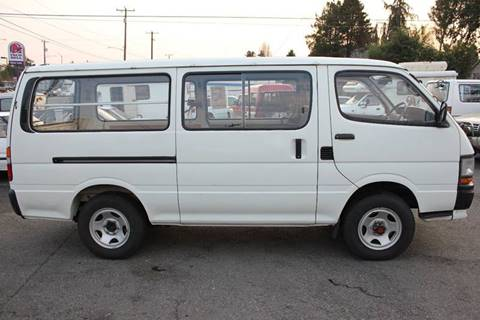 1991 Toyota HI ACE 4WD diesel for sale at JDM Car & Motorcycle LLC in Seattle WA