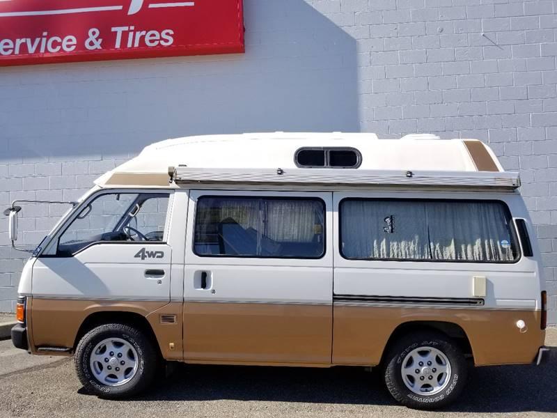 1990 Nissan Caravan Motorhome Diesel AWD - Seattle, WA