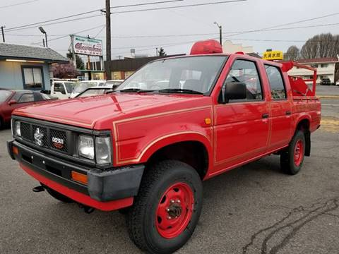 1991 Nissan Datsun 4WD Manual Transmission for sale at JDM Car & Motorcycle LLC in Seattle WA