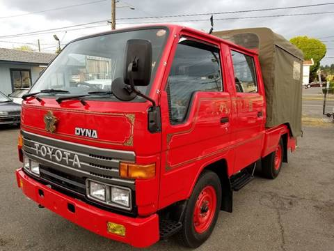 1992 Toyota DYNA W-CAB RWD for sale at JDM Car & Motorcycle LLC in Seattle WA