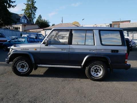1993 Toyota Landcruiser Prado KZJ78 diesel for sale at JDM Car & Motorcycle LLC in Seattle WA