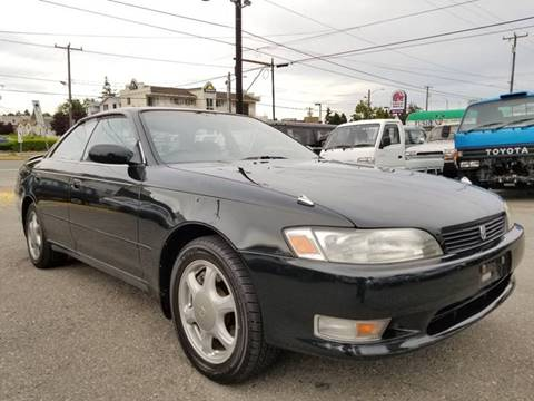 1993 Toyota Mark II Tourer V Twin Turbo for sale at JDM Car & Motorcycle LLC in Seattle WA